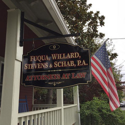 New sign for a local law firm