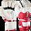 Thumbnail: Kraken Spekter Pro blanco - rojo