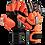 Thumbnail: Kraken Lethal Pro Naranja - Negro