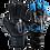 Thumbnail: Asimetrik Prime Semi Negro - Azul