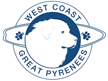 West Coast Great Pyrenees Foundation Logo