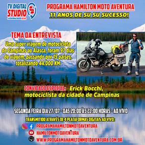 Uma super viagem de motocicleta de Campinas ao Alasca - TV Digital Studio S