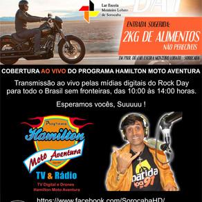 Transmissão ao vivo do Programa Hamilton Moto Aventura do Rock Day Sorocaba Harley-Davidson