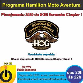 Planejamento 2020 do HOG Sorocaba Chapter