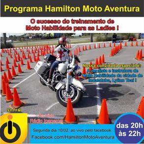 O sucesso do treinamento de Moto Habilidade para as Ladies