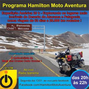 Expedição América 20 k - uma viagem pelo Deserto do Atacama e Patagonia, 63 dias e 20 mil km rodados