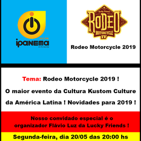 Rodeo Motorcycle 2019
