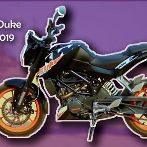 1º- KTM 200 Duke versão 2019