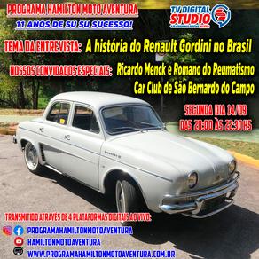 A História do Renault Gordini no Brasil !