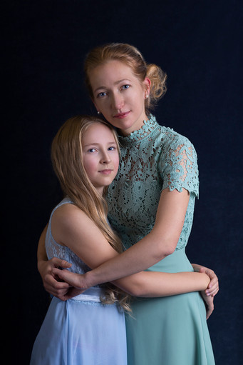 Mommy and Me portrait