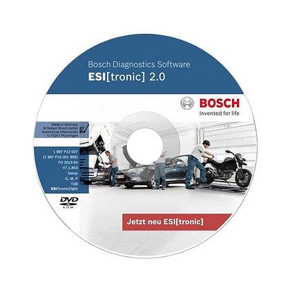 Bosch Esi Tronic сектор C9 основная подписка