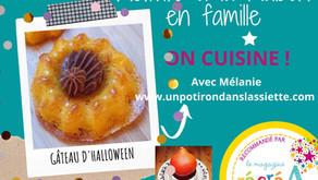 Gâteau d'Halloween