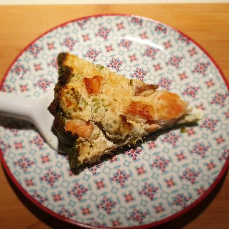 Quiche saumon& Choux