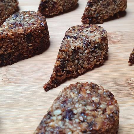 Barres graines pépites de chocolat