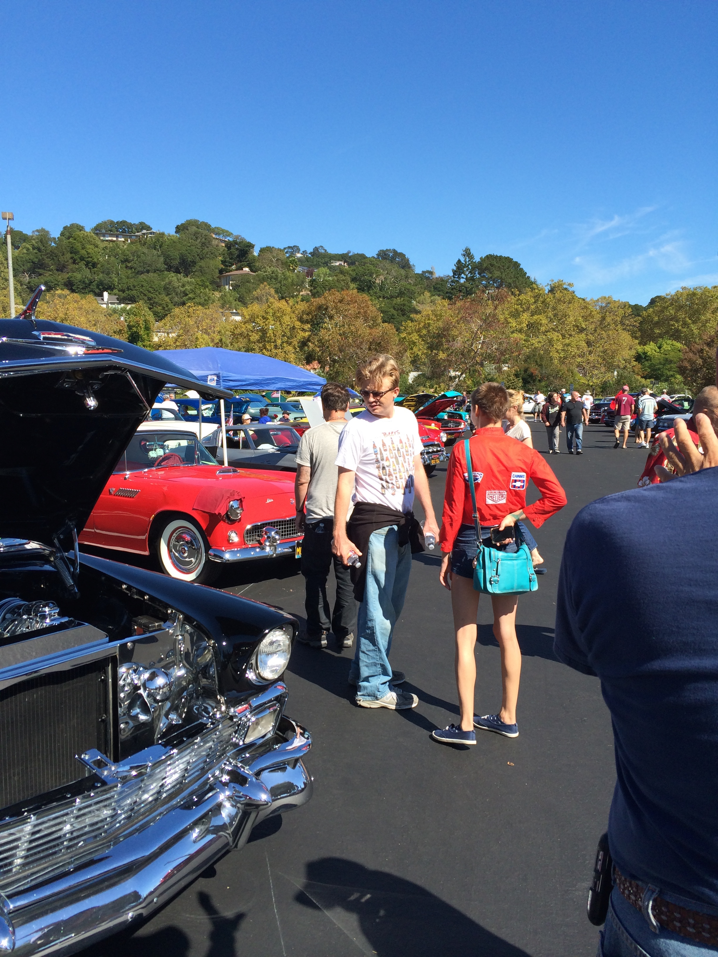 Classic Car Show in Greenbrae