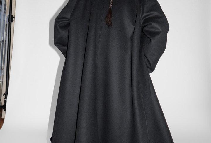 Cristaseya oversized coat