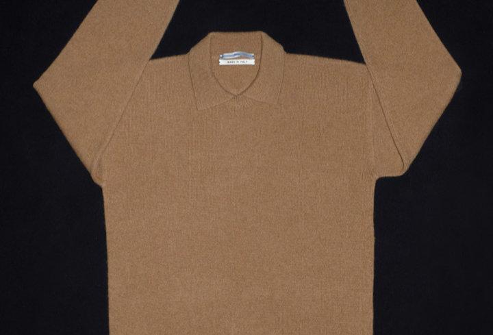 Cristaseya double coller polo sweater