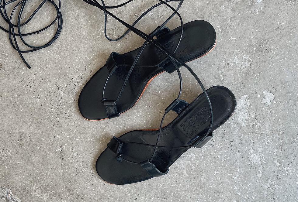 MARTINIANO  black  sandals