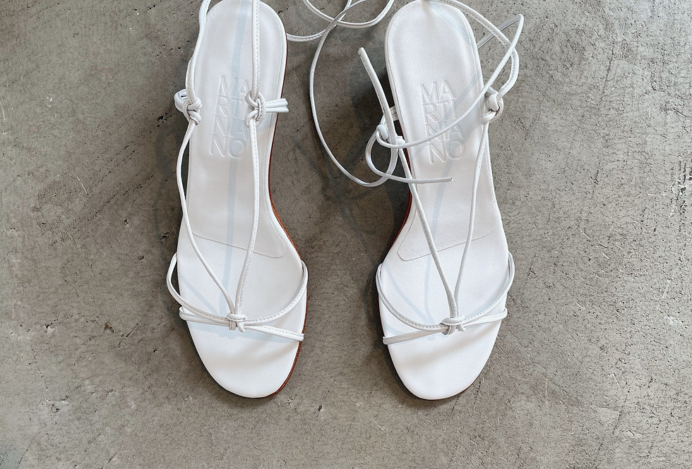 MARTINIANO  white sandals