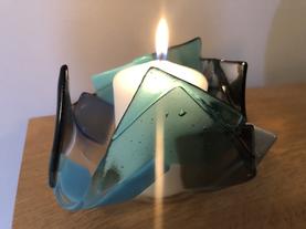 'Random Rocks' candleholder