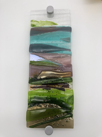 'Missing the countryside' glass wall panel