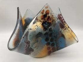 'Abstract Art' candleholder