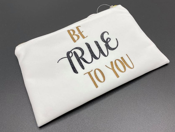 cosmetic bag - toilettas - Be True to you