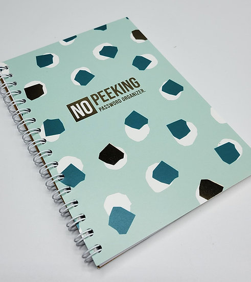 A6 Notebook - Paswoorden reminder