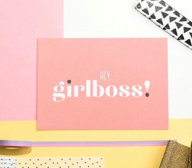 Kaart - Hey Girlboss