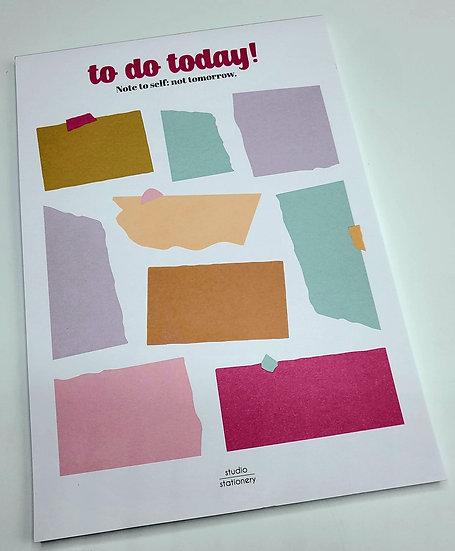 Noteblock - To Do Today - Multicolor