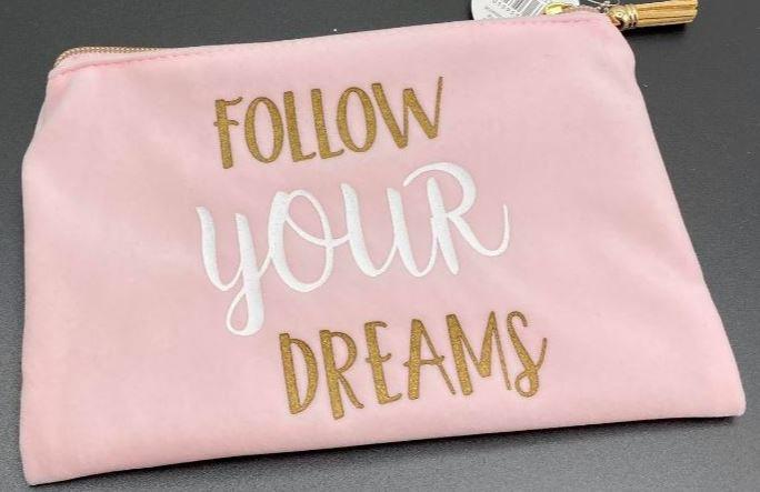 cosmetic bag - toilettas - Follow your dreams