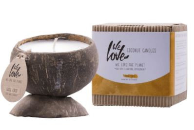 Coconut soy wax candle Cool Coco