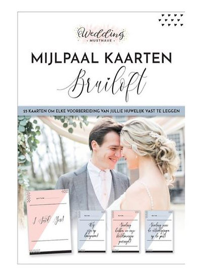 Bruiloft Mijlpaalkaarten