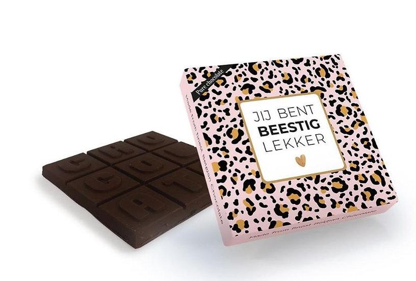 Chocola - Jij bent beestig lekker