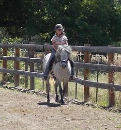 Eljas first ride
