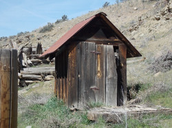 Old Outhouse at our ranch