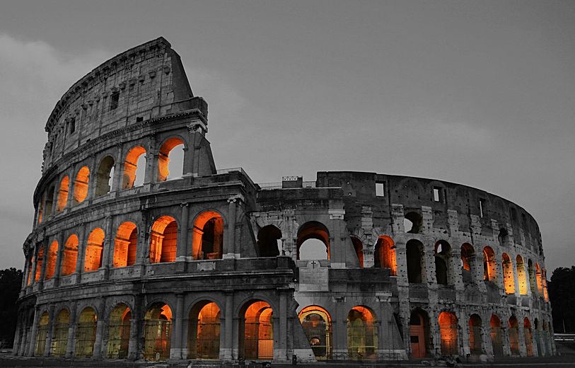 Rome Colosseum, Italy