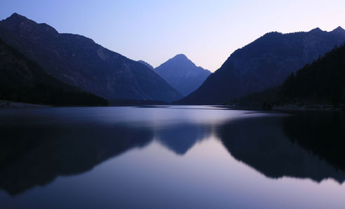 Austrian Lake, Alps
