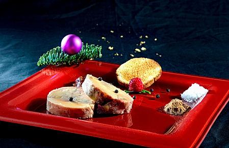 Foie-gras plate