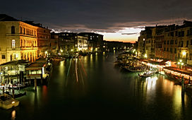 Gand canal of Venice, Italy