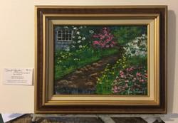"""$145 - Secret Garden - 9""""x12"""""""