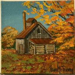 "$30 - Shrewsbury Sugarhouse - 6""x6"""