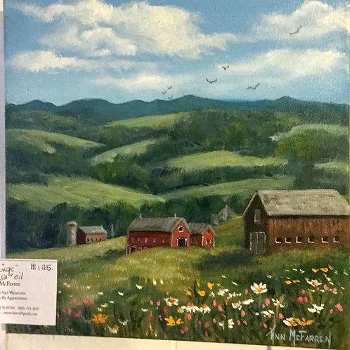 "Spring Things - (12""x12"") - Original Oil Painting"