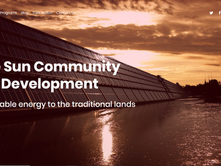 Native Sun Community Power Development Website