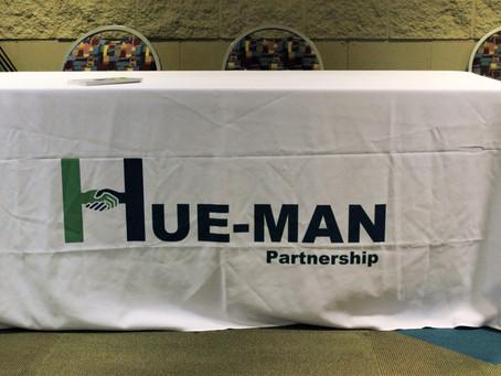 Hue-MAN Partnership at Community Empowerment Black Men Healing Conference