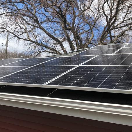 Solar Energy AC Install