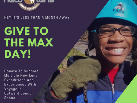 Donate to New Lens for Give To The Max Day