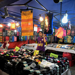 Night Market in the City