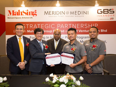 Mah Sing & i2M Ventures Collaborate to Offer Homes in Medini
