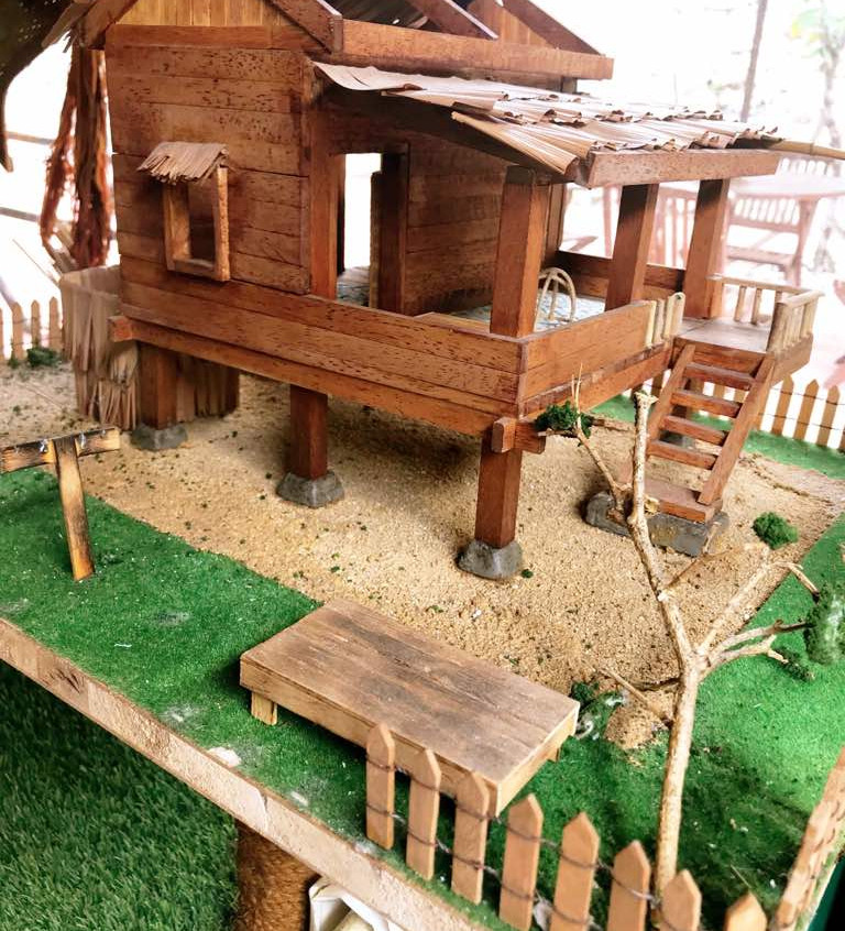 Miniature Kampung House